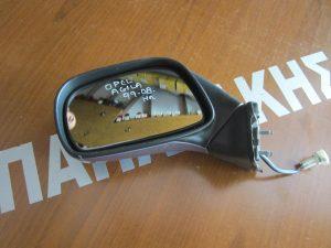 Opel Agila 1999-2008 καθρέπτης αριστερός ηλεκτρικός ασημί σκούρο