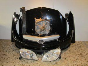 Opel Tigra Cabrio 2004-2009 μετώπη-μούρη κομπλέ μαύρη