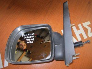 Renault Kangoo 1998-2003 καθρέπτης αριστερός  μηχανικός άβαφος