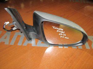 Toyota Auris 2013-2017 καθρέπτης δεξιός ηλεκτρικά ανακλινόμενος ασημί