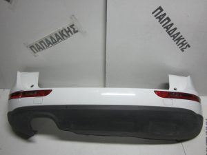 Audi Q5 2008-2012 πίσω προφυλακτήρας άσπρος με αισθητήρες