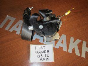 Fiat Panda 2003-2012 ζώνη ασφαλείας εμπρός οδηγού (αριστερό)