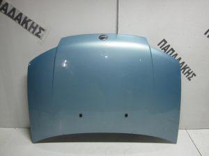 Fiat Punto 1999-2004 καπό εμπρός γαλάζιο