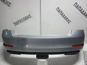 Skoda Octavia 6 2013-2017 πίσω προφυλακτήρας ασημί με αισθητήρες Sedan
