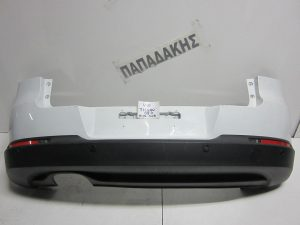 VW Tiguan 2007-2011 προφυλακτήρας πίσω άσπρος με αισθητήρες