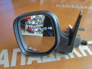 Citroen Berlingo 1996-2002(2002-2008) αριστερός μηχανικός καθρέπτης άβαφος