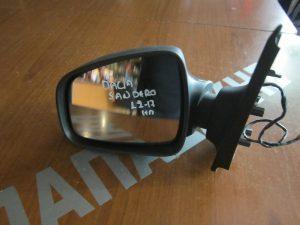 Dacia Sandero 2012-2017 αριστερός ηλεκτρικός καθρέπτης ανθρακί