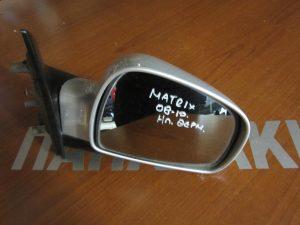 Hyundai Matrix 2008-2010 δεξιός ηλεκτρικά θερμαινόμενος καθρέπτης ασημί