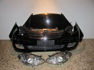 Mercedes A Class w169 2004-2008 μετώπη-μούρη εμπρός μαύρη diesel: καπό- 2 φτερά- 2 φανάρια- μετώπη- ψυγεία κομπλέ- προφυλακτήρας κομπλέ