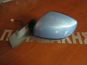 Opel Agila 2008-2014 αριστερός ηλεκτρικός καθρέπτης γαλάζιος χωρίς τζάμι
