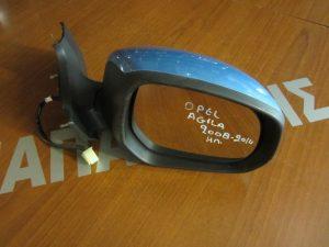 Opel Agila 2008-2014 δεξιός ηλεκτρικός καθρέπτης γαλάζιος