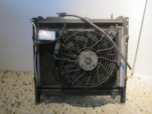 Suzuki Grand Vitara 1999-2005 ψυγεία: ψυγείο νερού- ψυγείο A/C- βεντιλατέρ A/C- βεντιλατέρ ψυγείου νερού