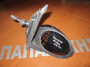 Toyota Aygo 2006-2014 δεξιός μηχανικός καθρέπτης μαύρος