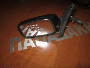 Toyota Yaris 1999-2004 αριστερός μηχανικός καθρέπτης άβαφος
