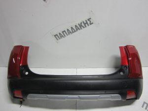 Peugeot 2008 2014-2017 προφυλακτήρας πίσω κόκκινος αισθητήρες