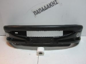 Peugeot 206 1998-2003 προφυλακτήρας εμπρός μαύρος με προβολείς