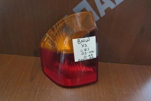Bmw X3 E83 2003-2006 φανάρι πίσω αριστερό πορτοκαλί φλας