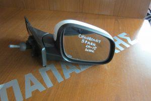 Chevrolet Spark 2010-2015 μηχανικός καθρέπτης δεξιός άσπρος