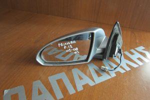 Nissan Primera P12 2002-2008 ηλεκτρικός καθρέπτης αριστερός ασημί