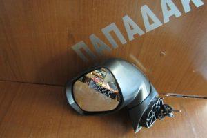 Peugeot 3008 2009-2016 ηλεκτρικά ανακλινόμενος καθρέπτης αριστερός γκρι 2 φις 9 καλώδια φως ασφαλείας