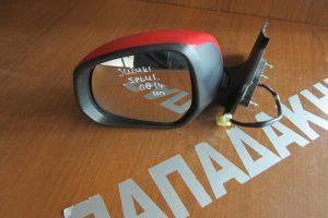 Suzuki Splash 2008-2014 ηλεκτρικός καθρέπτης αριστερός κόκκινος