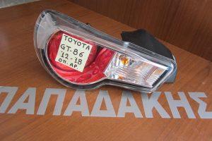 Toyota GT86,Subaru BZR 2012-2018 φανάρι πίσω αριστερό