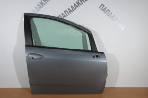 Fiat Grande Punto 2005-2015 πόρτα εμπρός δεξιά ασημί σκούρο