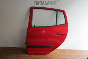 Kia Picanto 2004-2011 πόρτα πίσω αριστερή κόκκινη