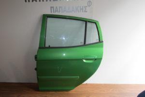 Kia Picanto 2004-2011 πόρτα πίσω αριστερή πράσινη