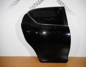 Lexus CT 200h 2011-2017 πόρτα πίσω δεξιά μαύρο