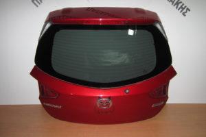 Mazda 2 2014-2018 πόρτα μπαγκάζ κόκκινη