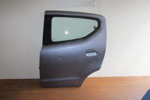 Nissan Pixo 2009-2014 πόρτα πίσω αριστερή γκρι