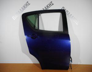 Opel Agila/Suzuki Splash 2008-2014 πόρτα πίσω δεξιά μπλε