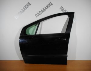 Peugeot 407 2004-2010 πόρτα εμπρός αριστερή μαύρη