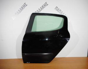 Peugeot 407 2004-2010 πόρτα πίσω αριστερή μαύρη