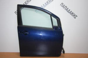 Suzuki Splash/Opel Agila 2008-2014 πόρτα εμπρός δεξιά μπλε