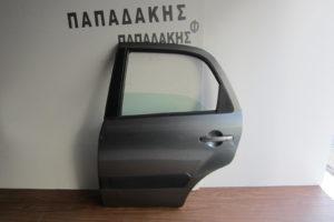 Suzuki SX4 2007-2013 πόρτα πίσω αριστερή γκρι φάσα
