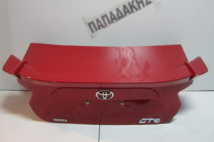 Toyota GT-86 2012-2018 καπό πίσω κόκκινο
