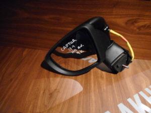 Renault Captur 2017-> αριστερός ηλεκτρικά ανακλινόμενος καθρέπτης μαύρος 9 καλώδια