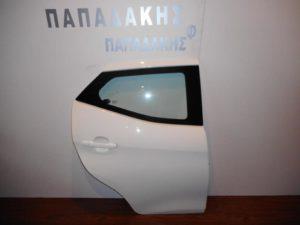 Toyota Aygo 2014-2018 πόρτα πίσω δεξιά άσπρη