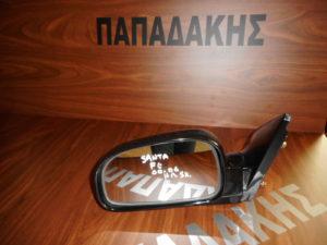 Hyundai Santa Fe 2000-2006 καθρέπτης αριστερός ηλεκτρικός μαύρος