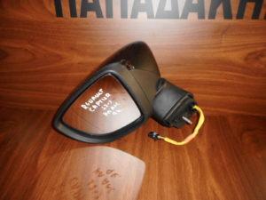 Renault Captur 2017-> ηλεκτρικά ανακλινόμενος καθρέπτης αριστερός μαύρος 9 καλώδια