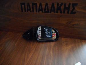 Audi A3 2008-2012 5πορτο δεξιός καθρέπτης ηλεκτρικά ανακλινόμενος μπλε σκούρο 10 καλώδια