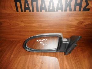 Hyundai Accent 2006-2011 αριστερός καθρέπτης ηλεκτρικός ασημί