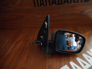 Hyundai i10 2008-2011 δεξιός καθρέπτης μηχανικός ασημί