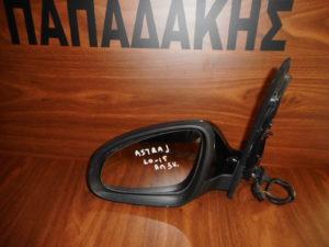 Opel Astra J 2010-2015 αριστερός καθρέπτης ηλεκτρικός μαύρος 5 καλώδια