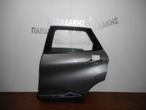 Renault Captur 2013-2018 πόρτα πίσω αριστερή γκρι