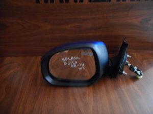 Suzuki Splash/Opel Agila 2008-2014 αριστερός καθρέπτης ηλεκτρικός μπλε