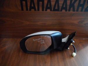 Suzuki Swift 2011-2014 αριστερός καθρέπτης ηλεκτρικός άσπρος
