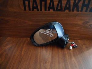 Toyota Verso S 2011-2015 αριστερός καθρέπτης ηλεκτρικός μαύρος 7 καλώδια